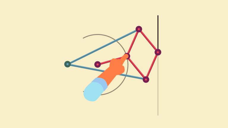 El mecanismo de Peaucellier-Lipkin